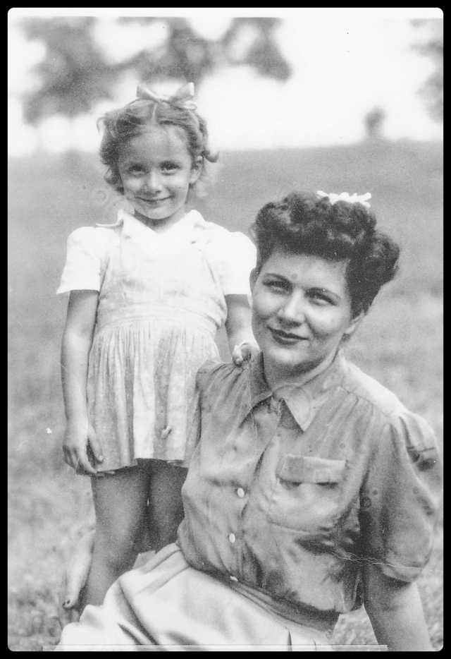 My Mother and Grandmother (I think Mom is the younger one.)