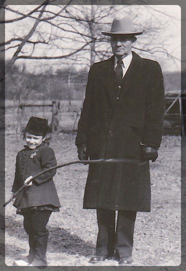 My Mother and Great-Grandfather