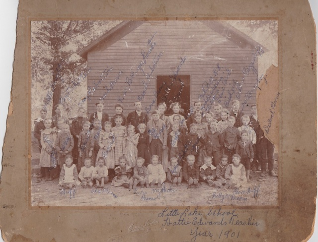 Little Lake School, circa. 1901