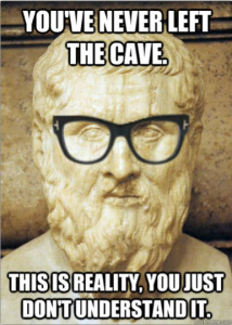 Hipster Plato